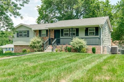 Hendersonville Single Family Home Active Under Contract: 125 Cedarcrest Dr