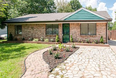 Clarksville Single Family Home Active Under Contract: 102 E St