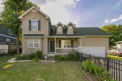 Nashville Single Family Home For Sale: 515 Nichol Rd