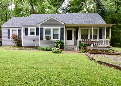Murfreesboro Single Family Home For Sale: 320 4th Ave