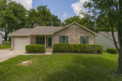 Clarksville Single Family Home For Sale: 3263 N Senseney Cir