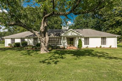 Davidson County Single Family Home Active Under Contract: 5961 Sedberry Rd