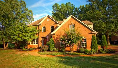 Nashville Single Family Home For Sale: 2766 Rock Wall Rd
