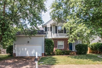 Franklin Single Family Home For Sale: 169 Cavalcade Cir