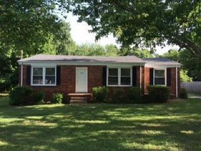 Rutherford County Rental For Rent: 3450 Mount Tabor