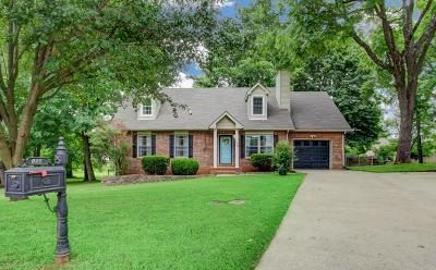 Clarksville Single Family Home Active Under Contract: 108 Deepwood Ct