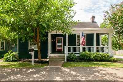 East Nashville Single Family Home Active Under Contract: 1600 Lillian St