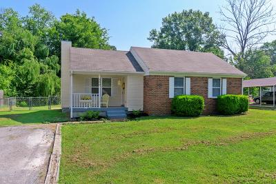 Mount Juliet Single Family Home For Sale: 130 Sunnymeade Dr