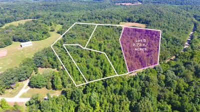Cunningham Residential Lots & Land For Sale: 5 Old Highway 48 (Lot 5)