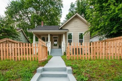 Nashville Single Family Home For Sale: 1211 Stainback Ave
