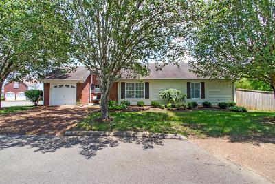Williamson County Single Family Home Active Under Contract: 90 Somerton Park