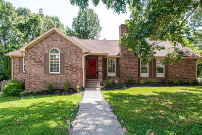 Nashville Single Family Home Active Under Contract: 100 Tuliptree Court