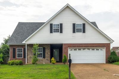 Spring Hill  Single Family Home Active Under Contract: 1021 Golf View Way