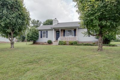 Murfreesboro Single Family Home Active Under Contract: 2313 Stones Throw Dr