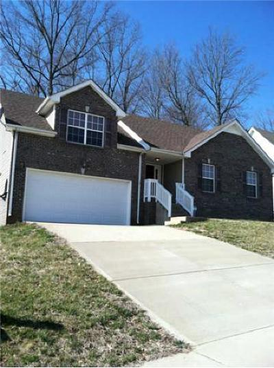 Clarksville Rental For Rent: 1457 Cedar Springs