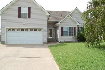 Clarksville Single Family Home For Sale: 3752 Kendra Ct N N