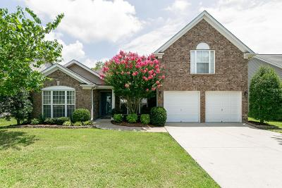 Spring Hill Single Family Home For Sale: 2003 McCrory Place