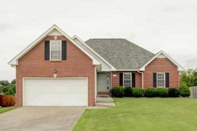Clarksville Single Family Home Active Under Contract: 240 Harold Dr