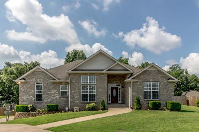 Clarksville TN Single Family Home For Sale: $275,000