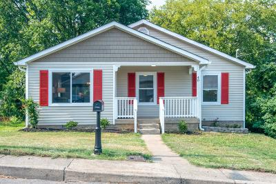 Nashville Single Family Home For Sale: 40 Shepard St
