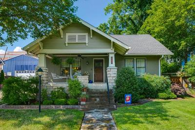 Nashville Single Family Home For Sale: 1111 Greenwood Ave