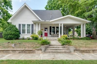 Dickson Single Family Home For Sale: 600 W 5th St
