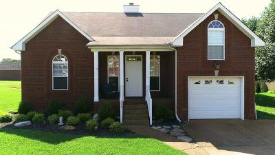 Robertson County Single Family Home Active Under Contract: 111 Dakota Dr