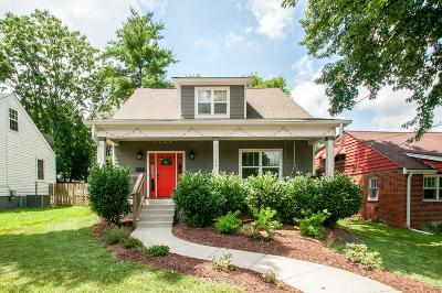 Nashville Single Family Home For Sale: 308 N 9th St