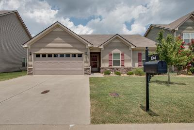 Murfreesboro Single Family Home For Sale: 3364 Tourmaline Dr