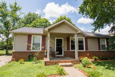 Clarksville Single Family Home For Sale: 390 Donna Dr