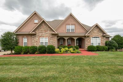 Christian County, Ky, Todd County, Ky, Montgomery County Single Family Home For Sale: 1481 Hollis Rdg