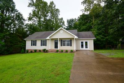 White Bluff Single Family Home Active Under Contract: 1029 Creek Bottom Rd