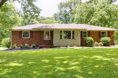 Nashville Single Family Home For Sale: 2920 Donna Hill Dr
