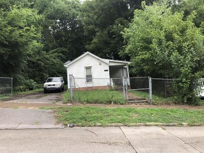 Nashville Single Family Home For Sale: 618 S 13th St