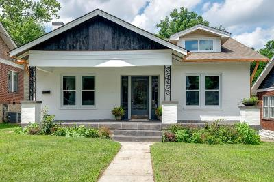 Nashville Single Family Home For Sale: 1709 Holly Street