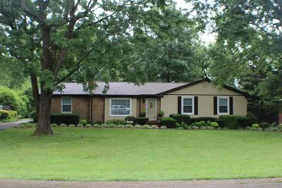 Sumner County Single Family Home For Sale: 1277 Woodvale Dr