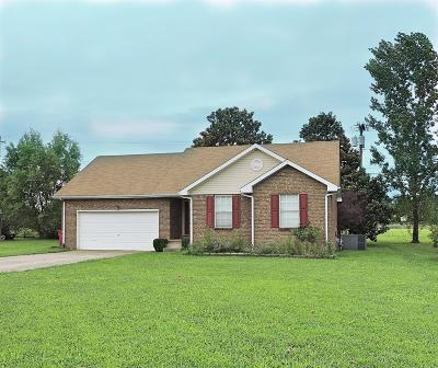 Christian County, Ky, Todd County, Ky, Montgomery County Single Family Home For Sale: 1233 Woodbridge Dr