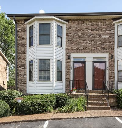 Hendersonville Condo/Townhouse For Sale: 250 Sanders Ferry Rd Apt 15 #D15