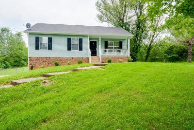 Christian County, Ky, Todd County, Ky, Montgomery County Single Family Home For Sale: 4834 Woodrow Rd