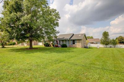 Clarksville Single Family Home Active Under Contract: 309 Cunningham Ln