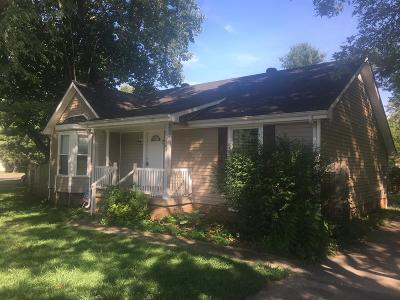 Clarksville Single Family Home For Sale: 105 Cunningham Pl