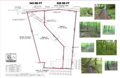 Davidson County Residential Lots & Land For Sale: Brick Church Pike