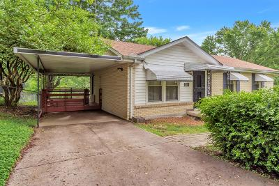 Clarksville TN Single Family Home For Sale: $142,000