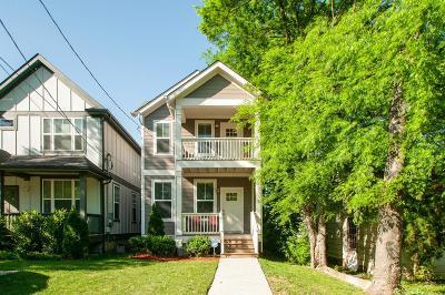 Nashville Single Family Home For Sale: 6211B Pennsylvania Ave