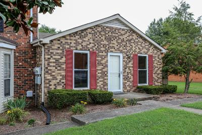 Smyrna Condo/Townhouse For Sale: 134 Stokes Dr