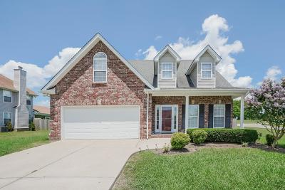 Murfreesboro Single Family Home For Sale: 604 Hornsby Ln