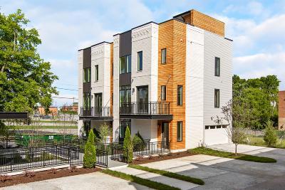 Nashville Single Family Home For Sale: 1616B 4th Ave N