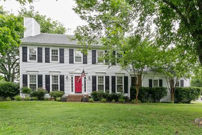 Hendersonville Single Family Home For Sale: 136 Devonshire Trl