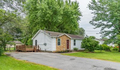 Christian County, Ky, Todd County, Ky, Montgomery County Single Family Home For Sale: 321 Woodale Dr