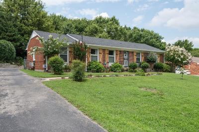 Nashville Single Family Home For Sale: 4737 Danby Dr